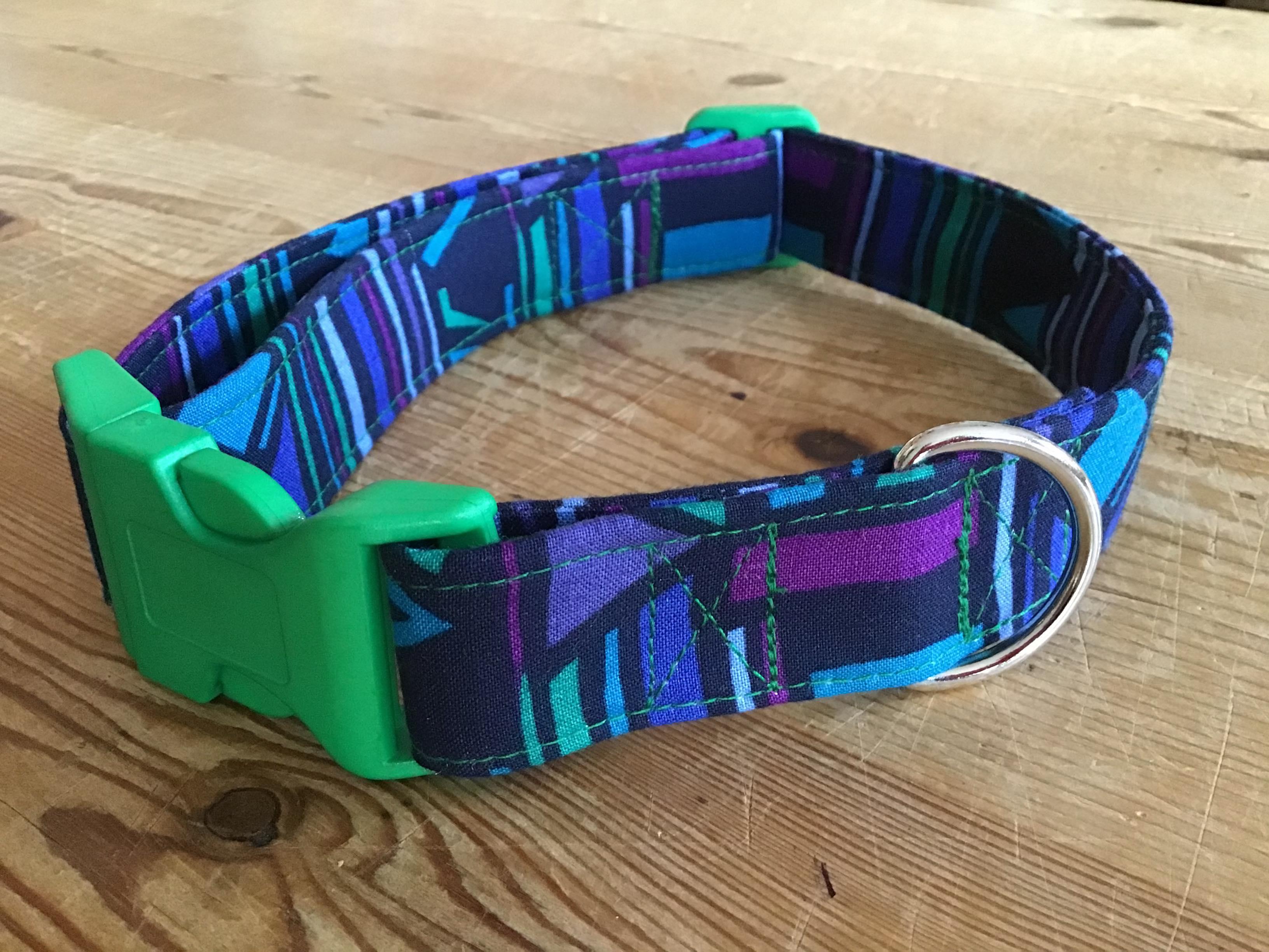Alvin fabric dog collar