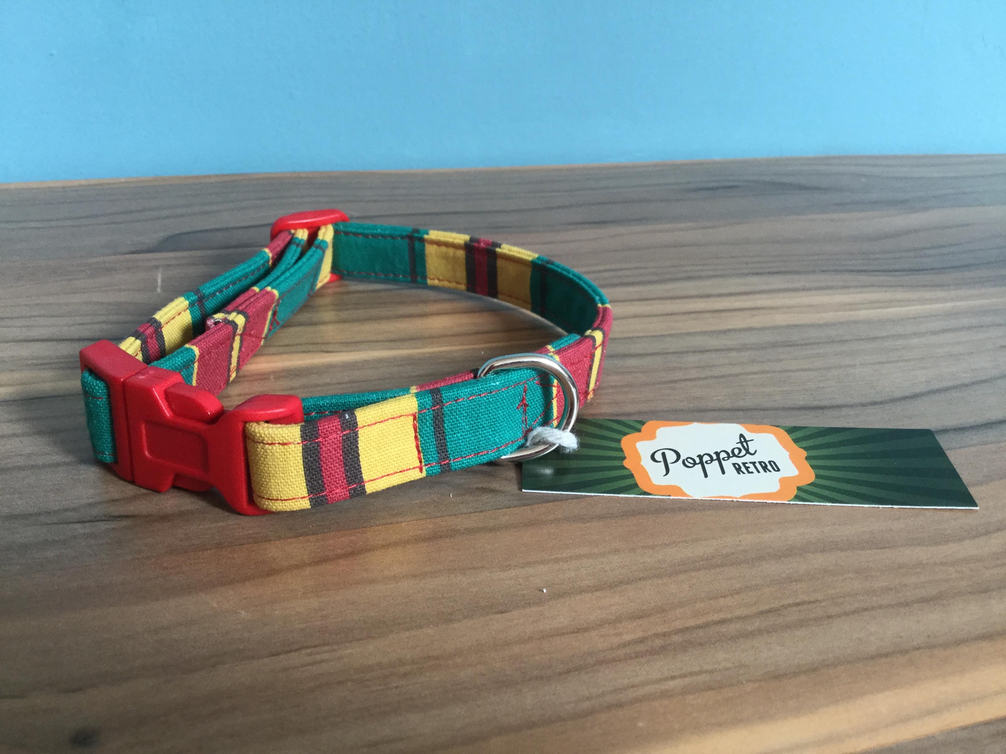 Herbert fabric dog collar