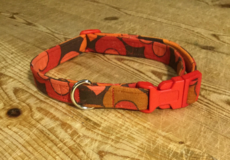 Wilfred fabric dog collar