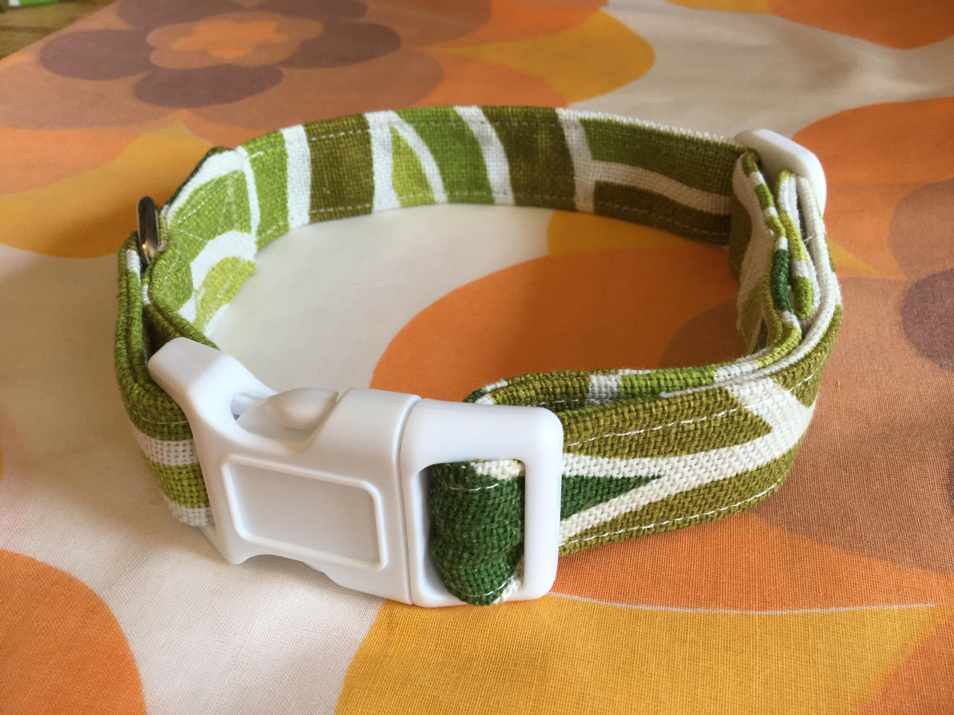 Marvin fabric dog collar