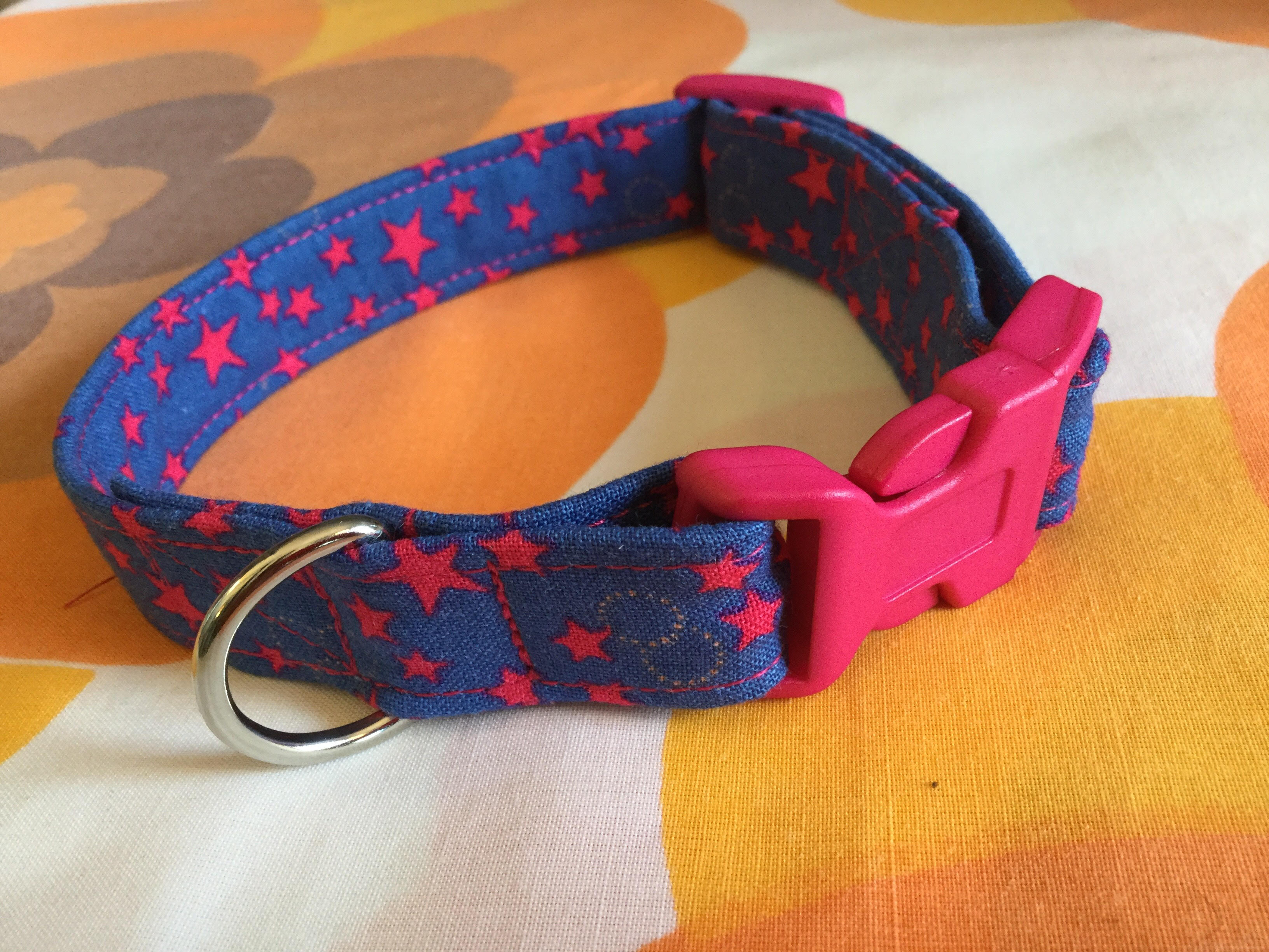 Ziggy fabric dog collar