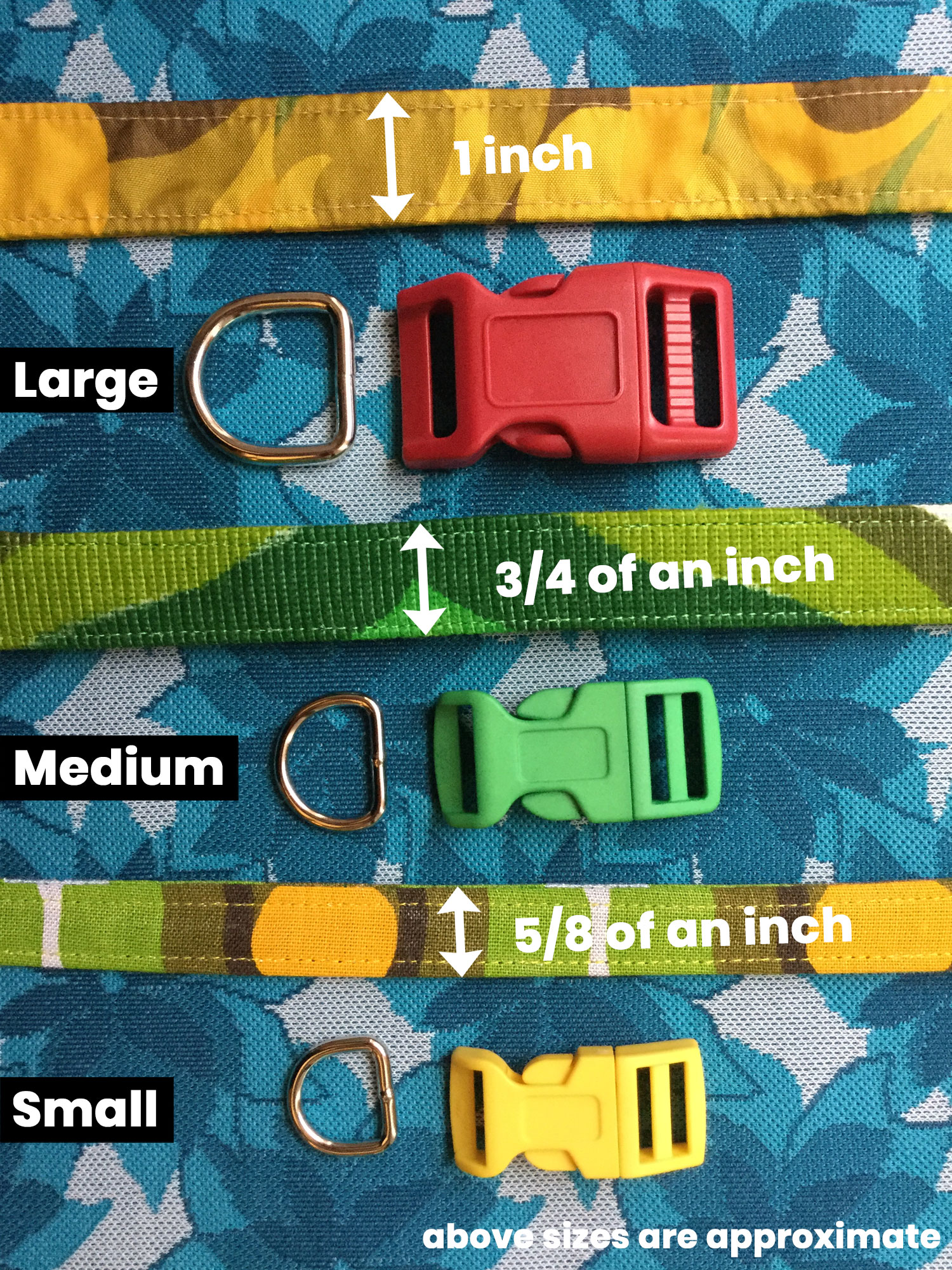 Collar thickness for retro dog collars